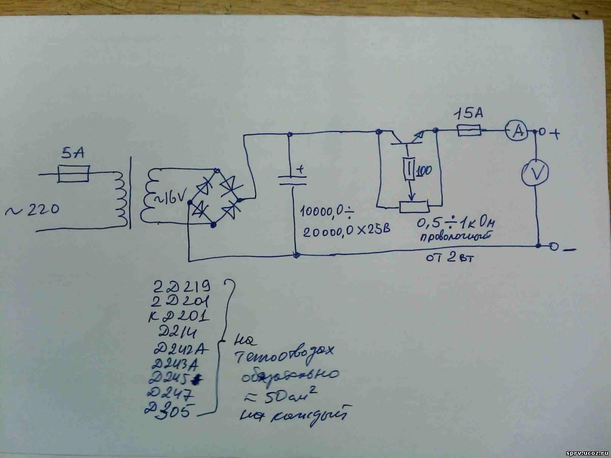 Мощный регулятор переменного тока и напряжения своими руками